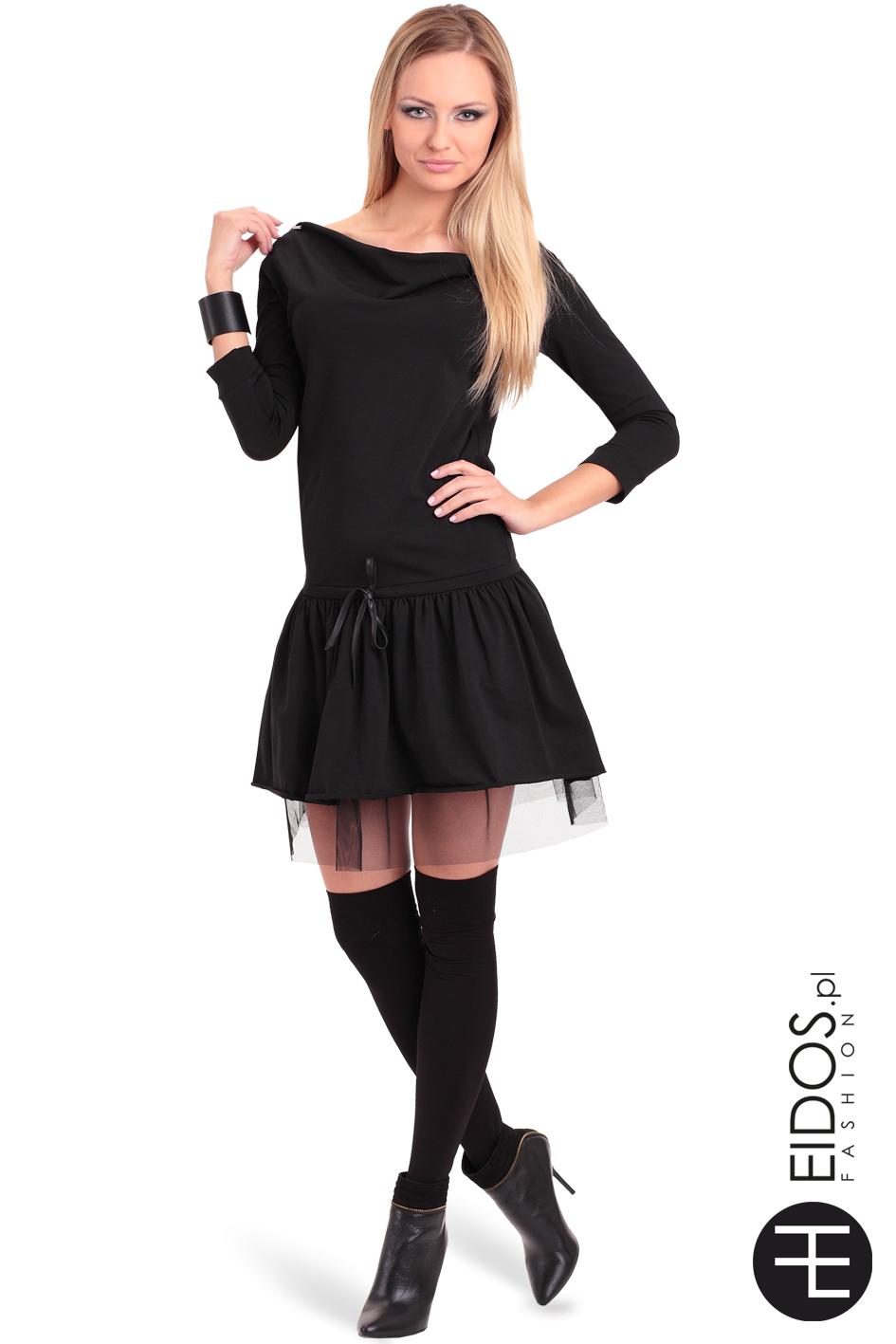 ac7382fa50 MARCELA czarna bawełna - EIDOS.pl