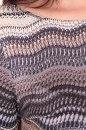 Sukienka AUTUMN WAVES szaro-beżowa