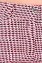 Spodnie KIKO ELASTIC czerwono-biało-czarne