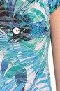 Bluzka RICO TROPIC niebieska