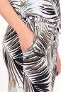 Sukienka ELATI  LEAVES khaki