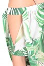 Bluzka BLUFI PALM zielona