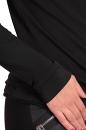 Bluzka ASYMETRIX ZIPP czarna