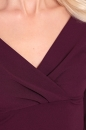 Sukienka ARIMA bakłażan