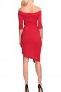 Sukienka JENIFER CLASSIC czerwona