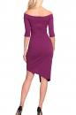 Sukienka JENIFER CLASSIC fiolet
