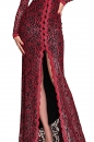 Sukienka GRAND BALL czerwono-czarna koronka