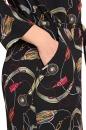 Sukienko-tunika REI kolorowo-czarna