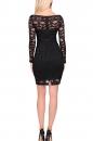 Sukienka SCARLETT czarna koronka