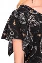 Bluzka ZONTE szaro-beżowo-czarna