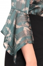 Bluzka RIVERA zielono-beżowa