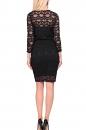 Sukienka DIANA koronkowa czarna