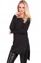 Tunika RISK czarna bawełna