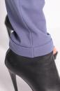 Spodnie SLANT ZIPP niebieski jeansowy