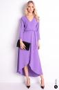 Sukienka CALISTA fioletowa