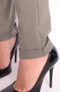 Spodnie SLANT ZIPP khaki