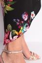 Spódniczka TULIP czarna w kwiaty