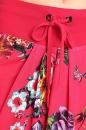 Spódniczka TULIP czerwona w kwiaty