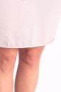 Sukienka REINA CEKINY świetlisty szary