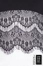 Sukienka z koronką BIANCA czarno-ecru