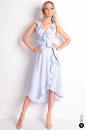 Sukienka ABELLA II pastelowy niebieski