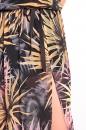 Sukienka LORI NET kolorowe palmy