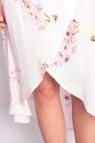Sukienka ROMANTICA II śmietankowa w kwiaty