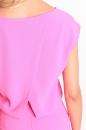 Sukienka ANETT MIDI intensywny oryginalny róż