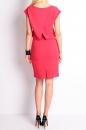 Sukienka ANETT MIDI jasna czerwień