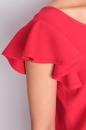 Sukienka RAJSKI PTAK jasna czerwień