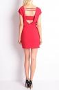 Sukienka V BEAUTY MINI czerwona
