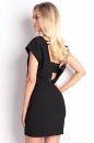 Sukienka V BEAUTY MINI czarna