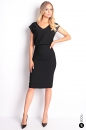 Sukienka V BEAUTY MAXI czarna