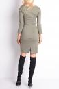 Sukienka XENA CLASSIC jasne khaki