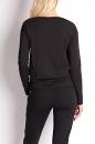 Bluzka RAW DELICATE ZIPP czarna