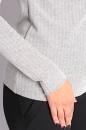 Bluzka CASSILIS LUZ szara jodełka
