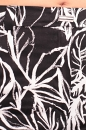 Spodnie MONA WYSOKI STAN FLOWERS czarne