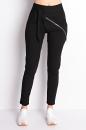 Spodnie SLANT ZIPP COTTON czarna bawełna