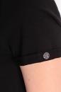 Bluzka AVEN BASIC czarna bawełna
