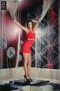 Sukienka LOVE czerwona