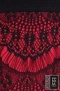 Sukienka z koronką PALENCIA czerwona