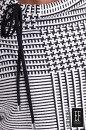 Bluza GIVET biało-czarna