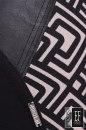 Spodnie BUELL 3D beżowo-czarne